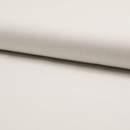 Lněná kostýmovka, bílá, š.135