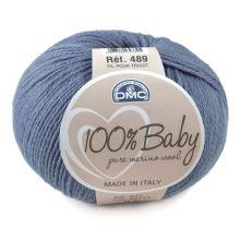 Příze 100% BABY 50g, modrá - odstín 072