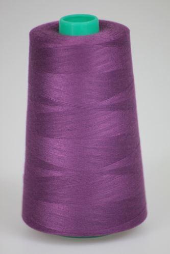 Niť KORALLI polyesterová 120, 5000Y, odtieň 3765, fialová