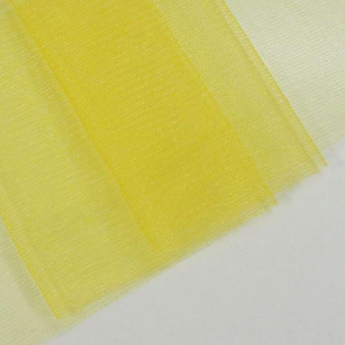 Tyl lesklý N3240, žltý š.155