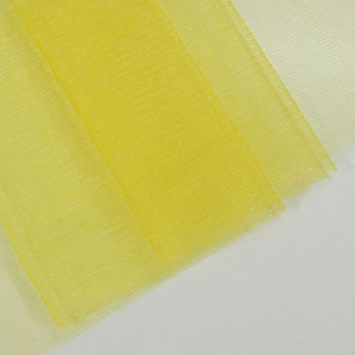 Tyl lesklý N3240, žlutý š.155