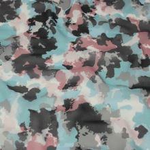 Šifón farebný, mapy, š.150