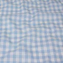 Kanafas svetle modro-biely, š.145