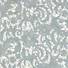 Krajka N5086 šedá, květinový vzor, š.125