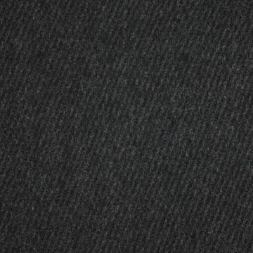 Kabátovina antracit, diagonálny vzor, š.155