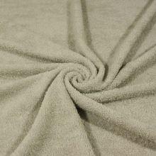 Froté šedo-béžové, bavlněné, 340g/m, š.150