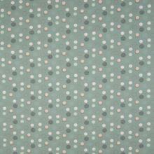 Úplet šedozelený, puntíky, š.145
