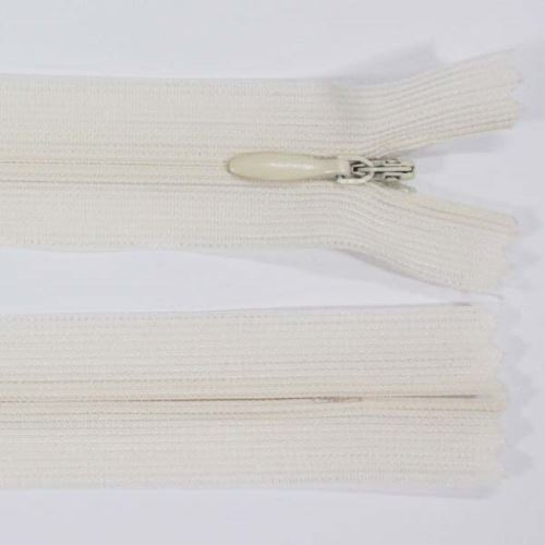 Zip skrytý šatový 3mm délka 30cm, barva 306