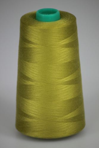 Niť KORALLI polyesterová 120, 5000, odtieň 6840, zelená
