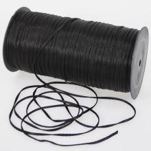 Tkanice čierna, šírka 2mm