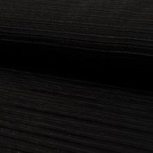 Šatovka plisé černé, š.145