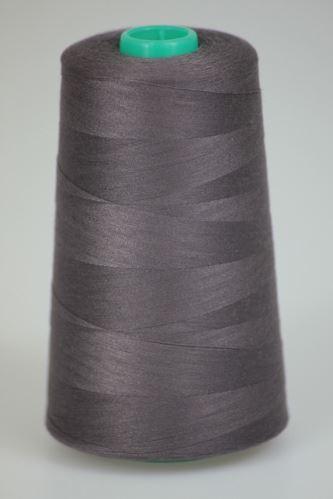Niť KORALLI polyesterová 120, 5000, odtieň 4485, hnedá