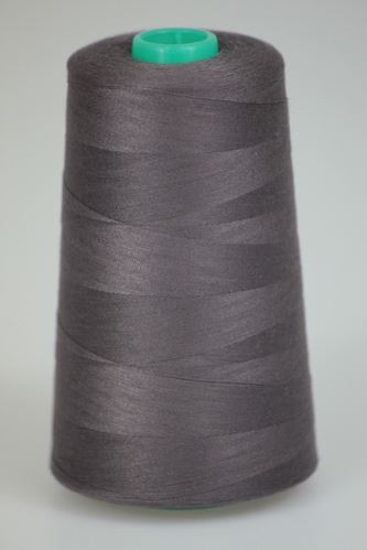 Niť KORALLI polyesterová 120, 5000Y, odtieň 4485, hnedá