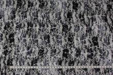 Krajka černobílá N2978, š.145