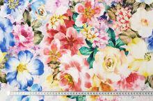 Úplet farebný kvetinový vzor, š.175