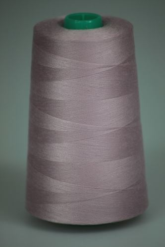 Niť KORALLI polyesterová 120, 5000Y, odtieň 4520, fialová-ružová