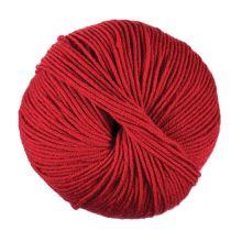 Příze WOOLLY 50g, červená - odstín 052