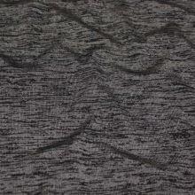 Úplet šedý, černé melé, š.145