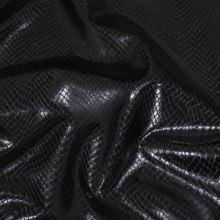 Koženka čierna, hadí vzor, š.145