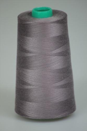 Niť KORALLI polyesterová 120, 5000, odtieň 4110, šedá