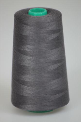 Niť KORALLI polyesterová 120, 5000Y, odtieň 4950, hnedá-šedá