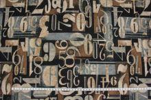 Úplet šedohnedý, číslice š.150