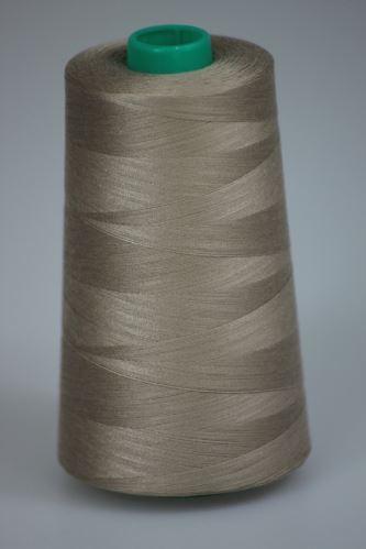 Nit KORALLI polyesterová 120, 5000Y, odstín 7260, béžová