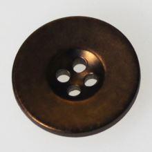Gombík bronzový K24-6, priemer 15 mm.