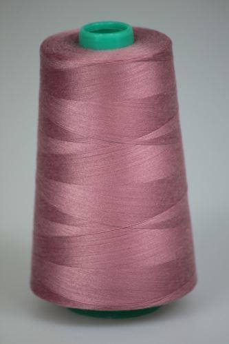 Niť KORALLI polyesterová 120, 5000, odtieň 3260, ružová