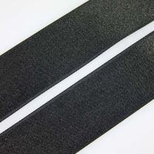 Stuha čierna saténová oboulíc, šírka 30mm