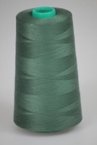Niť KORALLI polyesterová 120, 5000, odtieň 6630, zelená