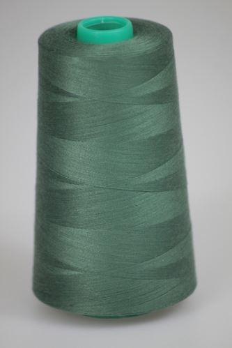 Niť KORALLI polyesterová 120, 5000Y, odtieň 6630, zelená