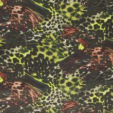 Úplet animal kingdom, zeleno-černý, š.150