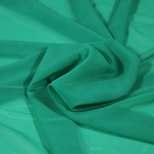 Elastický tyl N3746 zelený, š.165