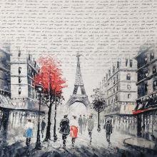 Úplet Eiffelova věž a písmo, š.175