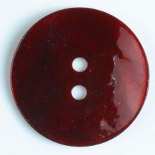 Gombík perleťový tmavo červený 241115, 13mm