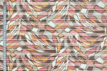 Košilovina 07421 barevný vzor, pruh š.150