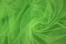 Tyl závojový zelenožltý š.180
