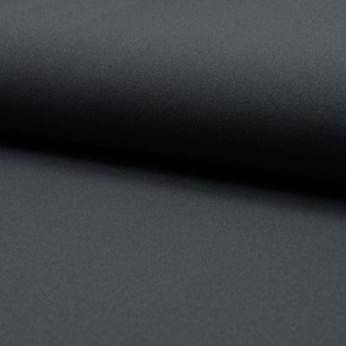 Úplet tmavě šedý žoržet, 230g/m, š.150