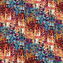Úplet N4255, barevný vzor, š.150