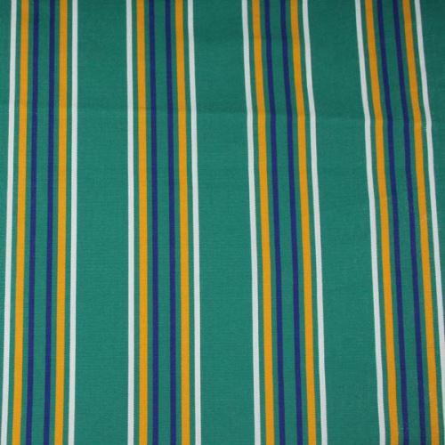 Lehátkovina zelená, farebný pruh, š.60