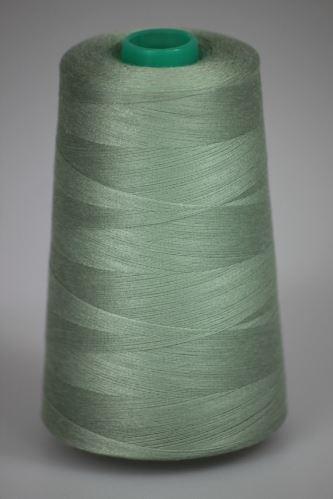 Niť KORALLI polyesterová 120, 5000Y, odtieň 6750, zelená