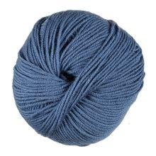 Priadza WOOLLY 50g, modrá - odtieň 075