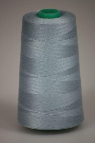 Niť KORALLI polyesterová 120, 5000Y, odtieň 5335, modrá