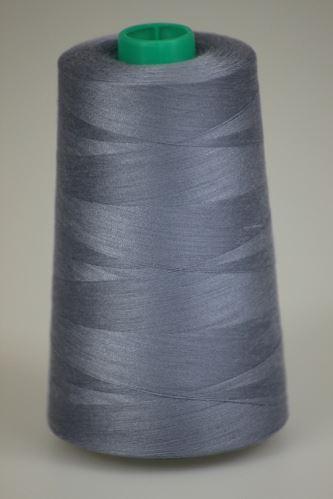 Niť KORALLI polyesterová 120, 5000Y, odtieň 4635, modrá-šedá