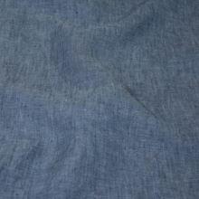 Len modrý melange 18383, 180g/m, š.130