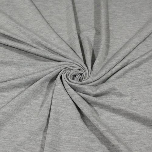 Úplet šedé melé 17053, 210g/m, š.150