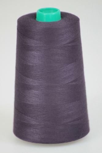 Niť KORALLI polyesterová 120, 5000Y, odtieň 4375, fialová