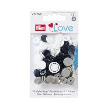 """Patentky Prym Love kulaté """"Color Snaps"""" 393008, 12,4 mm"""