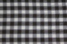 Košeľovina káro hnedo-biele, š.150